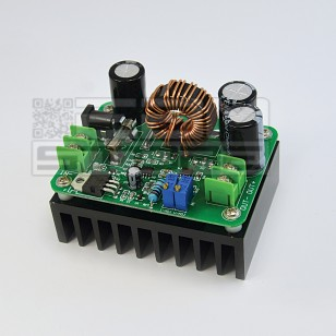 STEP UP 600W 10A Convertitore DC-DC boost regolabile