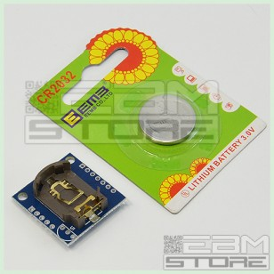 Shield DS 1307 RTC real time clock + memoria I2C Arduino PIC