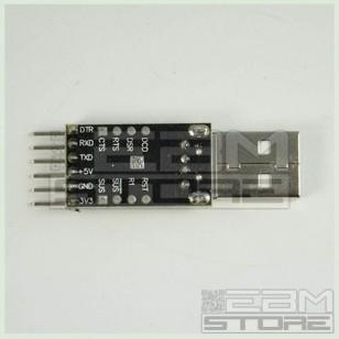 Convertitore RS232 USB TTL con CP2102