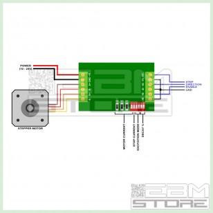 Driver 1 asse TB6560 per motori passo passo