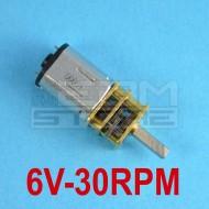 Micromotore 6V 30 RPM con riduttore - per modellismo