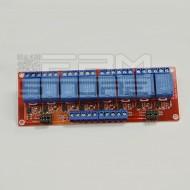 Scheda 8 relè 5Vdc relay