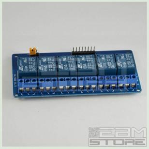 Scheda 6 relè 5Vdc relay