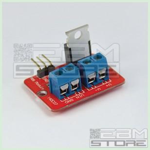 Scheda 1 MOSFET IRF 520 5Vdc