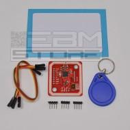Lettore NFC PN532 con portachiavi e card - RFID arduino