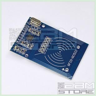 Lettore RFID mifare RC522 reader con portachiavi e card transponder