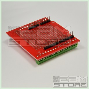 Proto shield / screw shield arduino UNO - adattatore morsettiera