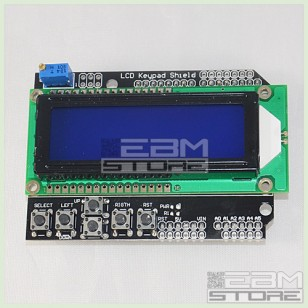 Display Shield LCD 16x2 per ARDUINO + tastiera