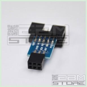 Adattatore USBASP da 10 a 6 pin