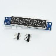 Modulo display 8 cifre seriale con MAX7219