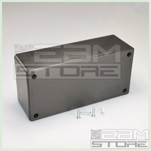 Contenitore 129x64x45 mm - custodia per elettronica in ABS nero