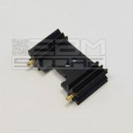 Dissipatore termico 45x25,4mm - aletta di raffreddamento