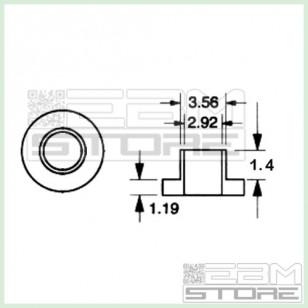 20pz Isolatore a rondella per TO220 isolatori