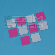 10pz Pad termico 18x18x2mm - Thermal pad