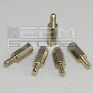 5pz Distanziale metallo M-F M3 12mm