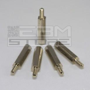 5pz Distanziale metallo M-F M3 20mm