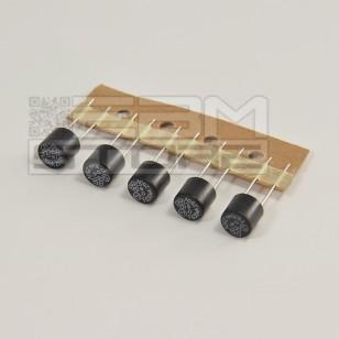 5pz Micro fusibile rapido 630mA 250V - 8mm pcb