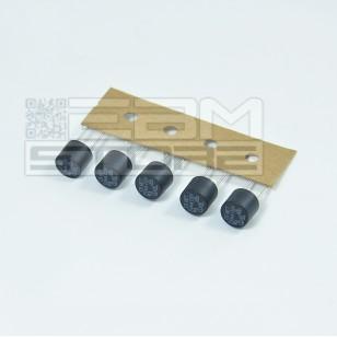 5pz Micro fusibile ritardato 50mA 250V - 8mm pcb