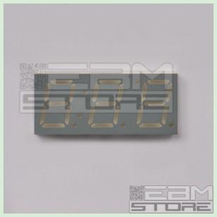 Display 3 cifre 7 segmenti rosso catodo comune TOT-3394 BH