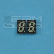 2pz Display 7 segmenti VERDE catodo comune HDSP-U513