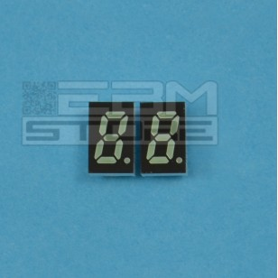 Display 7 segmenti VERDE catodo comune HDSP-U513