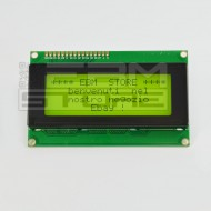 Display lcd VERDE 20x4 caratteri retroilluminato compatibile HD44780