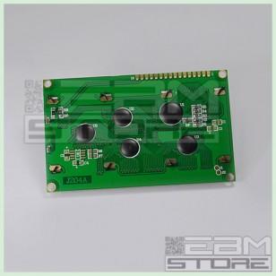 Display lcd 20x4 caratteri retroilluminato BLU compatibile HD44780
