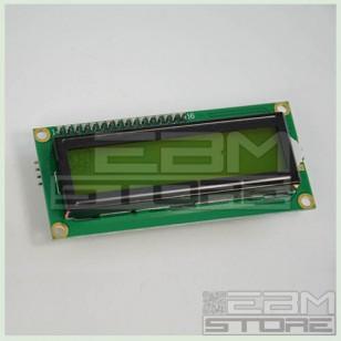 Display SERIALE VERDE 16x2 - PCF8574 IIC/I2C LCD retroilluminato