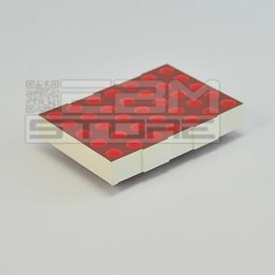 DISPLAY dot matrix 53mm - LTP2057AHR - 5x7 ROSSO