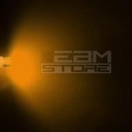 Led FLAT TOP gialli alta luminosità 6.000 mcd 5 mm