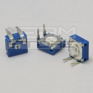3pz Trimmer orizzontali 100 Ohm 10x10mm