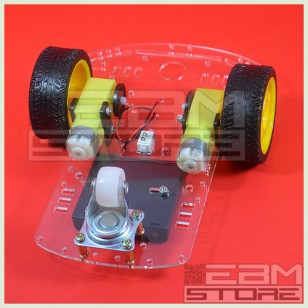 KIT robot 2 ruote chassis piattaforma shield