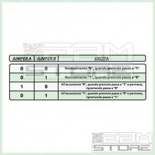 Interruttore capacitivo TTP223 - touch button