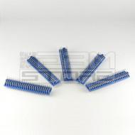 SOTTOCOSTO 5pz strisce 24 poli interruttori DIL da circuito stampato