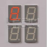 SOTTOCOSTO 4pz Display 7 segmenti Rosso anodo comune - HDSP-515L