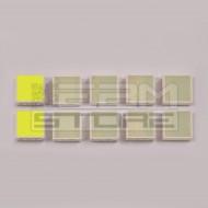 SOTTOCOSTO 10pz led verde quadrato - HLMP-2855