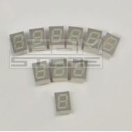 SOTTOCOSTO 10pz Display 7 segmenti arancio catodo comune - TDSO-1160