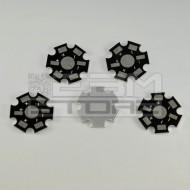 SOTTOCOSTO 5pz Dissipatore per led 1-3W in alluminio -heat sink star
