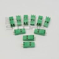 SOTTOCOSTO 10pz morsetti 2 poli H=25mm - da circuito stampato pcb