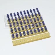 SOTTOCOSTO 50pz Condensatori elettrolitici 220uF 10V 105°