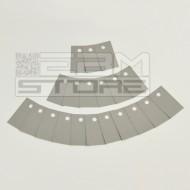 SOTTOCOSTO 20pz Isolatore 12,7x19mm - sil pad K-4