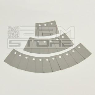 SOTTOCOSTO 20pz Isolatore 16x28,6mm - sil pad 400