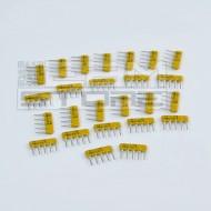 SOTTOCOSTO 25pz rete resistiva 4R+C 100K