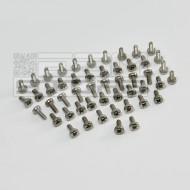 SOTTOCOSTO 50pz bullone in acciaio M2,5 x 6mm