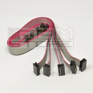 SOTTOCOSTO 5pz Cavo piatto cablato 16 poli - 48cm flat cable IDC