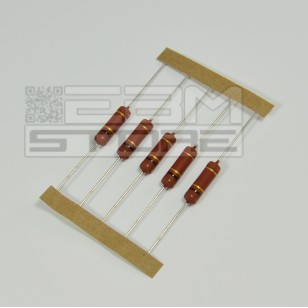 SOTTOCOSTO 5pz resistenza 3W 18 ohm 5% strato metallico