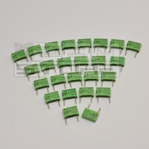 SOTTOCOSTO 25pz condensatore poliestere MKT 1nF 1000V 1KV P=10mm