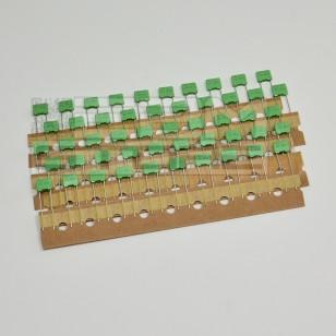 SOTTOCOSTO 50pz condensatore poliestere 2n2 400V