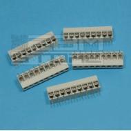 SOTTOCOSTO 5pz morsetti 9 poli H=13mm - da circuito stampato pcb