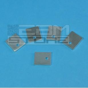 SOTTOCOSTO 5pz dissipatore in alluminio artigianale TO220